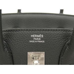 エルメス バーキン 25 cm ハンドバッグ プロン×シルバー金具 トゴ T刻印 HERMES Birkin バッグ プロンブ|gallery-rare|03
