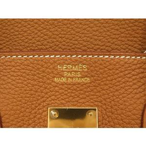 エルメス バーキン 35 cm ハンドバッグ ゴールド×ゴールド金具 トゴ P刻印 HERMES Birkin バッグ|gallery-rare|03