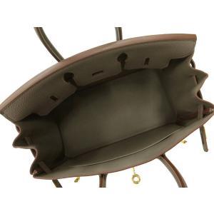 エルメス バーキン 25 cm ハンドバッグ エタン×ゴールド金具 トゴ R刻印 HERMES Birkin バッグ|gallery-rare|02
