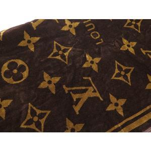 ルイヴィトン ビーチタオル ドラ ドゥ バン・モノグラム・クラシック M72364 LOUIS VUITTON ヴィトン タオルケット|gallery-rare|05