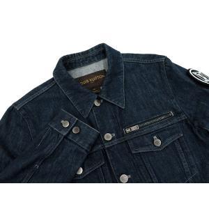 ルイヴィトン ジャケット デニム メンズサイズ46 LOUIS VUITTON ヴィトン 服 メンズ 上着|gallery-rare|02