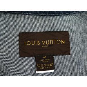 ルイヴィトン ジャケット デニム メンズサイズ46 LOUIS VUITTON ヴィトン 服 メンズ 上着|gallery-rare|03