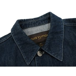 ルイヴィトン ジャケット デニム メンズサイズ46 LOUIS VUITTON ヴィトン 服 メンズ 上着|gallery-rare|05