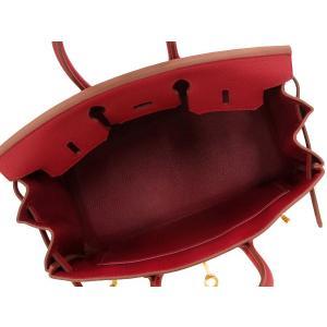エルメス バーキン 25 cm ハンドバッグ ルビー×ゴールド金具 トゴ T刻印 HERMES Birkin バッグ|gallery-rare|02