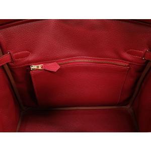 エルメス バーキン 25 cm ハンドバッグ ルビー×ゴールド金具 トゴ T刻印 HERMES Birkin バッグ|gallery-rare|04