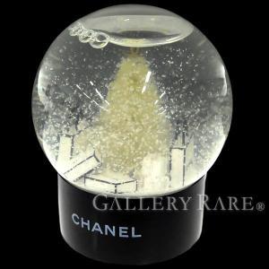 シャネル ノベルティ スノードーム ココマーク もみの木 ギフトボックス モチーフ 非売品 2012年 VIP顧客限定 CHANEL 置物 オブジェ スノーグローブ|gallery-rare