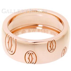 カルティエ リング ハッピーバースデイ K18PGピンクゴールド リングサイズ52 Cartier 指輪 ジュエリー バースデー ロゴリング|gallery-rare