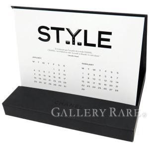 シャネル ノベルティ 卓上カレンダー 2016年 CHANEL カレンダー|gallery-rare