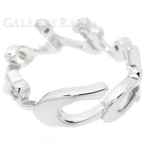 カルティエ リング シグネチャー 3Pダイヤ ダイヤモンド K18WGホワイトゴールド サイズ48|gallery-rare