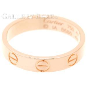カルティエ リング ミニラブリング K18PGピンクゴールド リングサイズ49 B4085200 B4085249 Cartier ジュエリー 指輪|gallery-rare