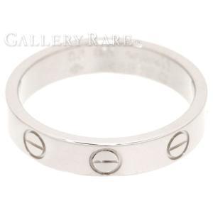 カルティエ リング ミニラブリング K18WGホワイトゴールド リングサイズ50 B4085100 B4085150 Cartier ジュエリー 指輪|gallery-rare