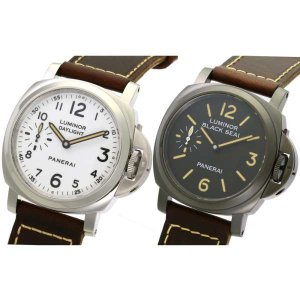 パネライ ルミノール 8デイズ ブラックシール & デイライト 世界500セット限定モデル Q番 PAM00785 PANERAI 腕時計【時計】|gallery-rare