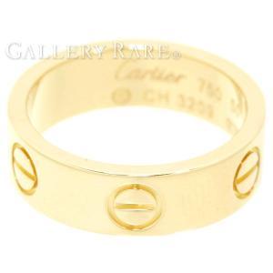 カルティエ リング ラブリング K18YGイエローゴールド リングサイズ50 48306900 40306950 Cartier 指輪 ジュエリー|gallery-rare