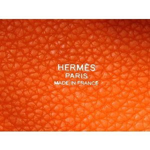 エルメス ハンドバッグ ピコタンロックPM フー×シルバー金具 トリヨンクレマンス R刻印 HERMES Picotin バッグ gallery-rare 03