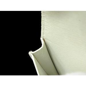 エルメス カードケース ホワイト ヴォーエプソン L刻印 HERMES パスケース gallery-rare 03