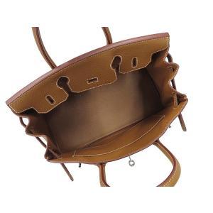 エルメス バーキン30cm ハンドバッグ ゴールド×シルバー金具 トゴ R刻印 HERMES Birkin バッグ|gallery-rare|02