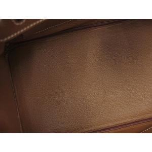 エルメス バーキン30cm ハンドバッグ ゴールド×シルバー金具 トゴ R刻印 HERMES Birkin バッグ|gallery-rare|03