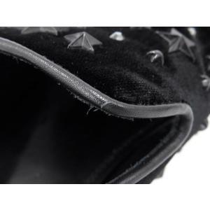 ジミーチュウ シューズ スタースタッズ クリスタル ベルベット ドレスシューズ メンズサイズ42 SLOANEVWC JIMMY CHOO 靴 スリッポン|gallery-rare|04