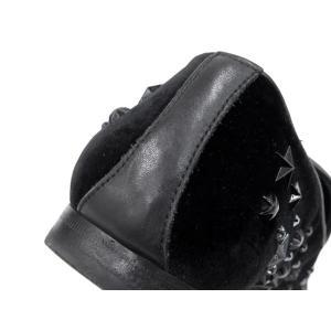 ジミーチュウ シューズ スタースタッズ クリスタル ベルベット ドレスシューズ メンズサイズ42 SLOANEVWC JIMMY CHOO 靴 スリッポン|gallery-rare|06