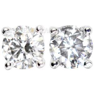 ポンテヴェキオ ピアス 1Pダイヤ ダイヤモンド 計0.20ct K18WGホワイトゴールド Ponte Vecchio ジュエリー ダイアモンド gallery-rare