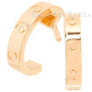 カルティエ ピアス ミニラブ K18PGピンクゴールド B8029000 Cartier Earrings ジュエリー|gallery-rare