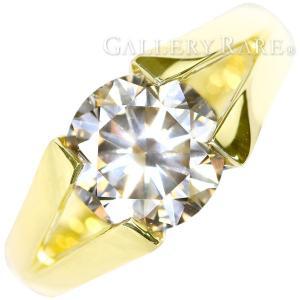 ダイヤモンド リング ダイヤモンド 2.725ct K18イエローゴールド 約11号 ジュエリー|gallery-rare