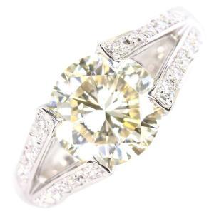 ダイヤモンド リング ダイヤモンド 総計3.44ct プラチナ900 Pt900 約12号 ジュエリー|gallery-rare