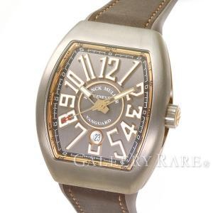 フランクミュラー ヴァンガード チタン×K18PGピンクゴールド V45SCDT FRANCK MULLER 腕時計 メンズ|gallery-rare