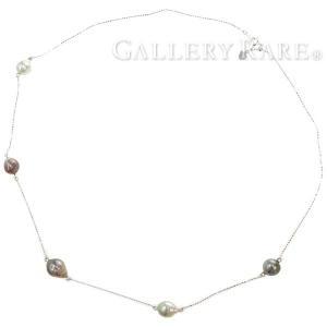 パール ネックレス K18WGホワイトゴールド ジュエリー 真珠|gallery-rare