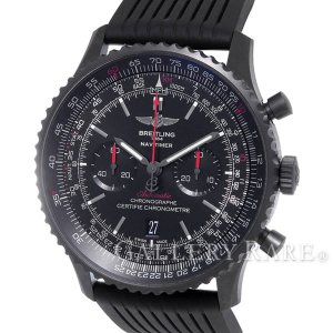 ブライトリング ナビタイマー46 ブラックスチール M017B51PRB MB0128  BREITLING 腕時計|gallery-rare