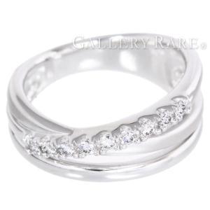 ダイヤモンド リング ダイヤモンド 0.15ct K18ホワイトゴールド 約12号 ジュエリー  【ジュエリー】|gallery-rare
