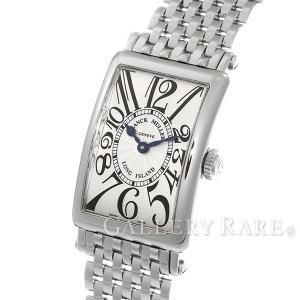 フランクミュラー ロングアイランド シルバー文字盤 902QZ FRANCK MULLER 腕時計 レディース|gallery-rare