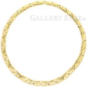 ブルガリ ネックレス アルベアーレ ダイヤモンド K18イエローゴールド BVLGARI ジュエリー パヴェダイヤ gallery-rare