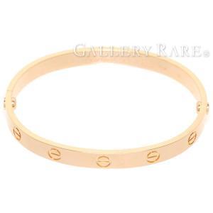 カルティエ ブレスレット ラブブレス K18PGピンクゴールド サイズ17 旧型金具 B6035617 B6035600 Cartier ジュエリー ブレス|gallery-rare
