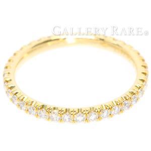 カルティエ リング エタンセル ドゥ カルティエ フルエタニティ ダイヤモンド 0.47ct K18YGイエローゴールド リングサイズ48 B4086300|gallery-rare