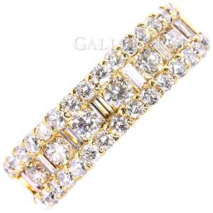 ダイヤモンド リング パヴェダイヤ ダイヤモンド 1.208ct K18YGイエローゴールド ジュエリー 指輪|gallery-rare