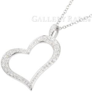 ピアジェ ネックレス ハート PIAGET HEART ダイヤモンド 約0.77ct K18WGホワイトゴールド G33H0700 ジュエリー ダイアモンド ペンダント|gallery-rare