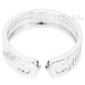 カルティエ リング C2リング 2007年限定 K18WGホワイトゴールド リングサイズ56 Cartier ジュエリー 指輪 2C|gallery-rare
