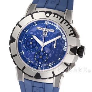 ハリーウィンストン オーシャンスポーツ クロノグラフ ザリウム OCSACH44ZZ007 HARRY WINSTON 腕時計|gallery-rare