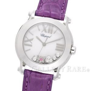 ショパール ハッピースポーツ ミニ ウォッチ ニュージェネレーション 278509 3001 Chopard 腕時計 レディース ダイヤモンド サファイア HAPPY SPORT|gallery-rare