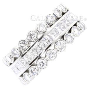 カルティエ リング ダイヤモンド プラチナ950 PT950 リングサイズ48 Cartier ジュエリー ダイアモンド 指輪|gallery-rare