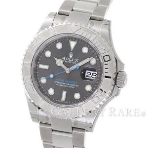 ロレックス ヨットマスター ロレジウム ダークロジウム ランダムシリアル ルーレット 116622 ROLEX 腕時計 gallery-rare