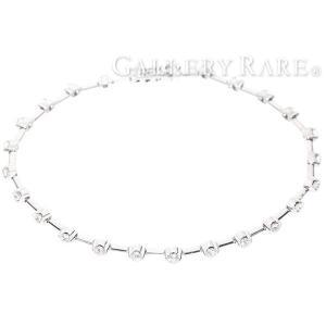 デビアス ブレスレット ライン LINE ダイヤモンド 1.25ct K18WGホワイトゴールド  DE BEERS ジュエリー ダイアモンド|gallery-rare
