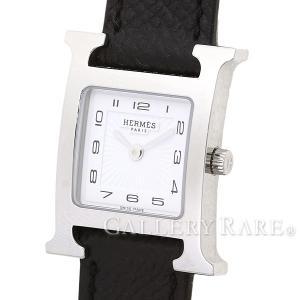 エルメス Hウォッチ レザーストラップ ヴォーエプソン A刻印 HH1.210.131 HERMES 腕時計 レディース|gallery-rare