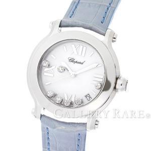 ショパール ハッピースポーツ 36MM 白文字盤 27/8475W Chopard 腕時計 レディース ダイヤモンド HAPPY SPORT|gallery-rare