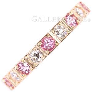カルティエ リング ラニエール ピンクサファイア ダイヤモンド K18PGピンクゴールド B4070500 リングサイズ50 Cartier 指輪 ジュエリー|gallery-rare