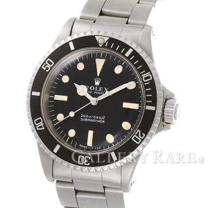 ロレックス サブマリーナ ノンデイト フチナシ メーターファースト 1番 5513 ROLEX 腕時計|gallery-rare