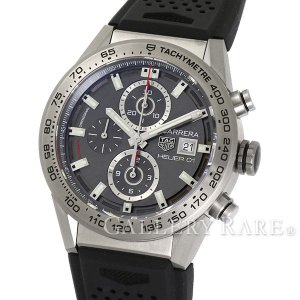 タグホイヤー カレラ キャリバーホイヤー01 クロノグラフ CAR208Z.FT6046 TAGHEUER 腕時計|gallery-rare