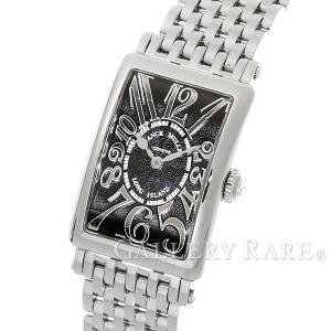 フランクミュラー ロングアイランド 黒文字盤 902QZ FRANCK MULLER 腕時計 レディース|gallery-rare