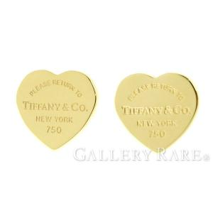 ティファニー ピアス リターン トゥ ティファニー ハート タグ ピアス K18YGイエローゴールド Tiffany&Co. ジュエリー アクセサリー gallery-rare
